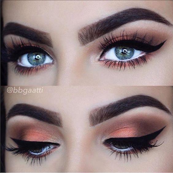Maquillaje de Ojos Ahumados con Paso a Paso, Perfecto ¡y en Minutos!