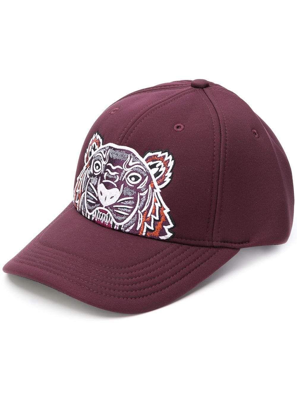 kenzo  cap  tiger  hat  burgundy  sporty  style  faschion  new www ... 12d2becbf16