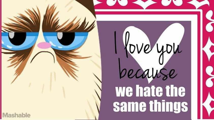 find this pin and more on my kind of grumpy grumpy cat valentines