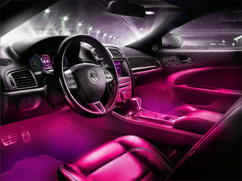 Car interior accessories for guys - Led Interior Underdash Lighting Kit
