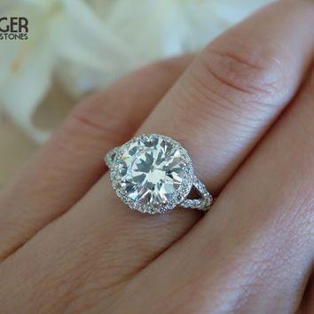 3 Carat Diamond Engagement Ring Lovely