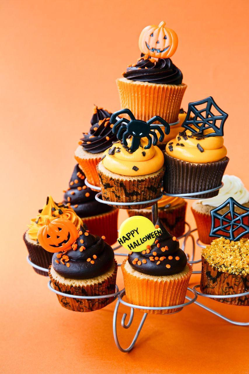 Halloween Cupcake Ideas Decoration Spider Cupcakes And Halloween