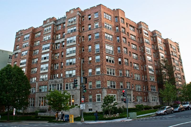 The Frontenac Apartment Building In The Cleveland Park