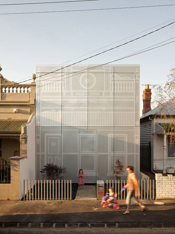 Wonderful Pic Perf   Perforated Metal. Used As The Entire Front Exterior Facade Of  Brunswick Home