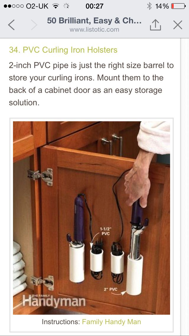 Storage for tongs