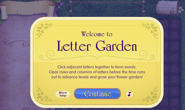 play letter garden game online letter garden is a fantastic word game that you can play online with your pc mac or chromebook - Letter Garden Game