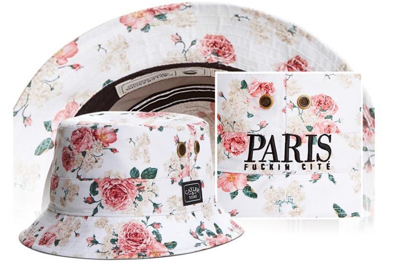 1bb067e8d96 Men s   Women s Cayler   Sons C   S WL Paris Fuckin Cite Bucket Hat -  Floral White