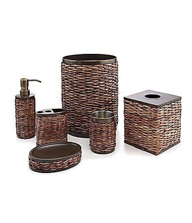 Exceptionnel Tommy Bahama Retreat Wicker Bath Accessories #Dillards | Home Decor |  Pinterest | Bath Accessories, Tommy Bahama And Bath