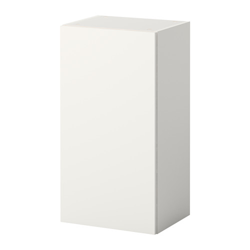KNOXHULT Vægskab med dør IKEA Stellene og fronterne er belagt med melamin, der er ridsefast og nem at gøre ren.