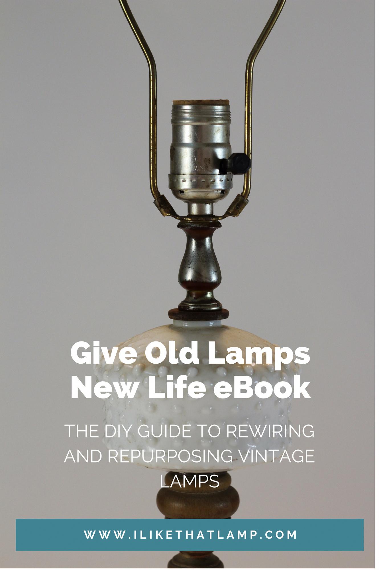 5aeca82d57a3930fc7d642f79f494995 how to rewire old lamps and repurpose vintage lamps, full diy guide