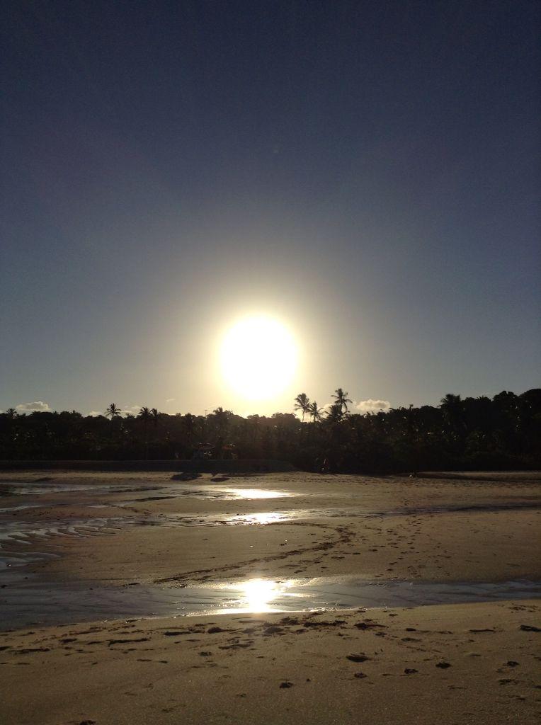Pôr do sol divino...