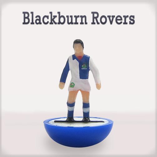 Il Blackburn Rovers #subbuteo #edicola #collezione