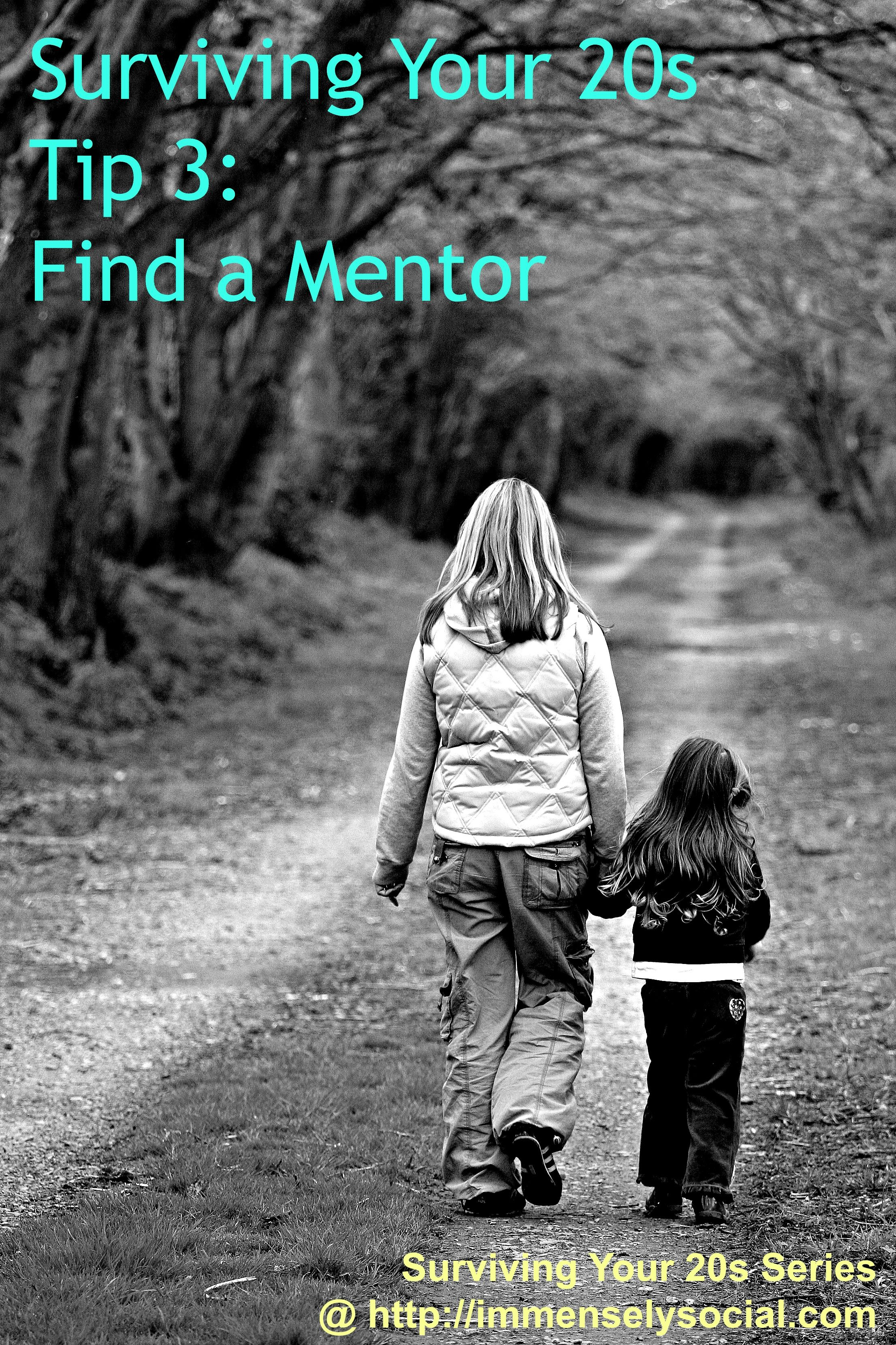 "http://immenselysocial.com/find-a-mentor/ ""Everyone needs a coach, whether it's a top level executive, a graduate student, a homemaker, a homeless person or the President of the United States."" ~Anthony Robbins"