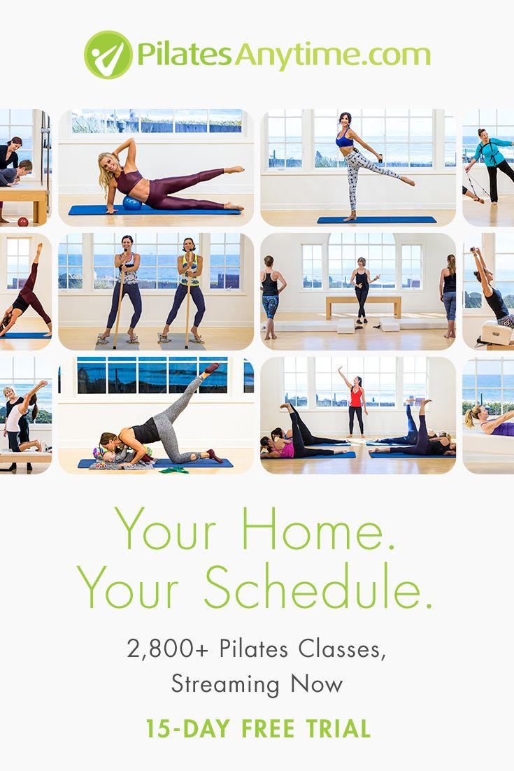 Online mat and equipment pilates classes for all levels