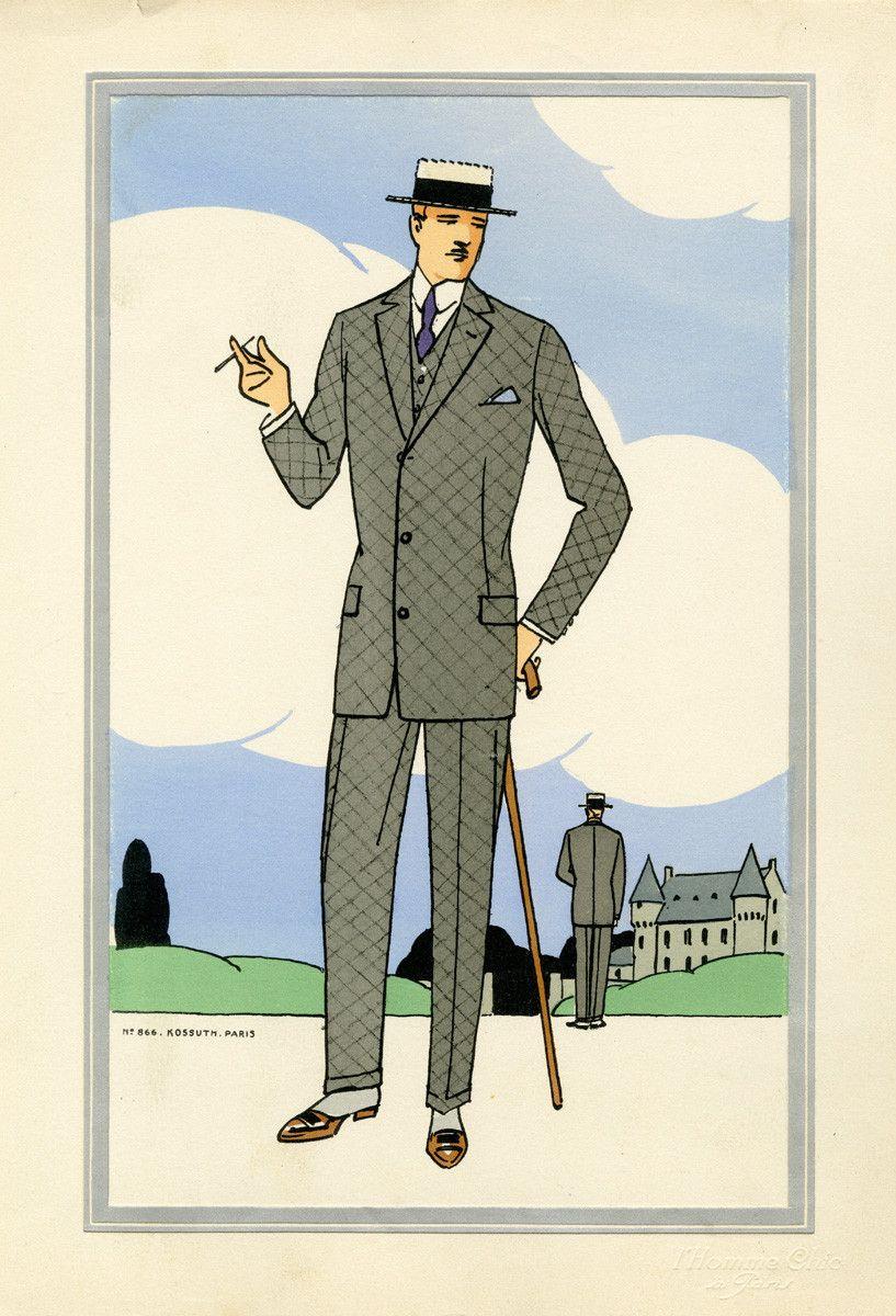 1920 39 s men 39 s fashion 1920 39 pinterest mode mode ann e 20 et mode homme. Black Bedroom Furniture Sets. Home Design Ideas