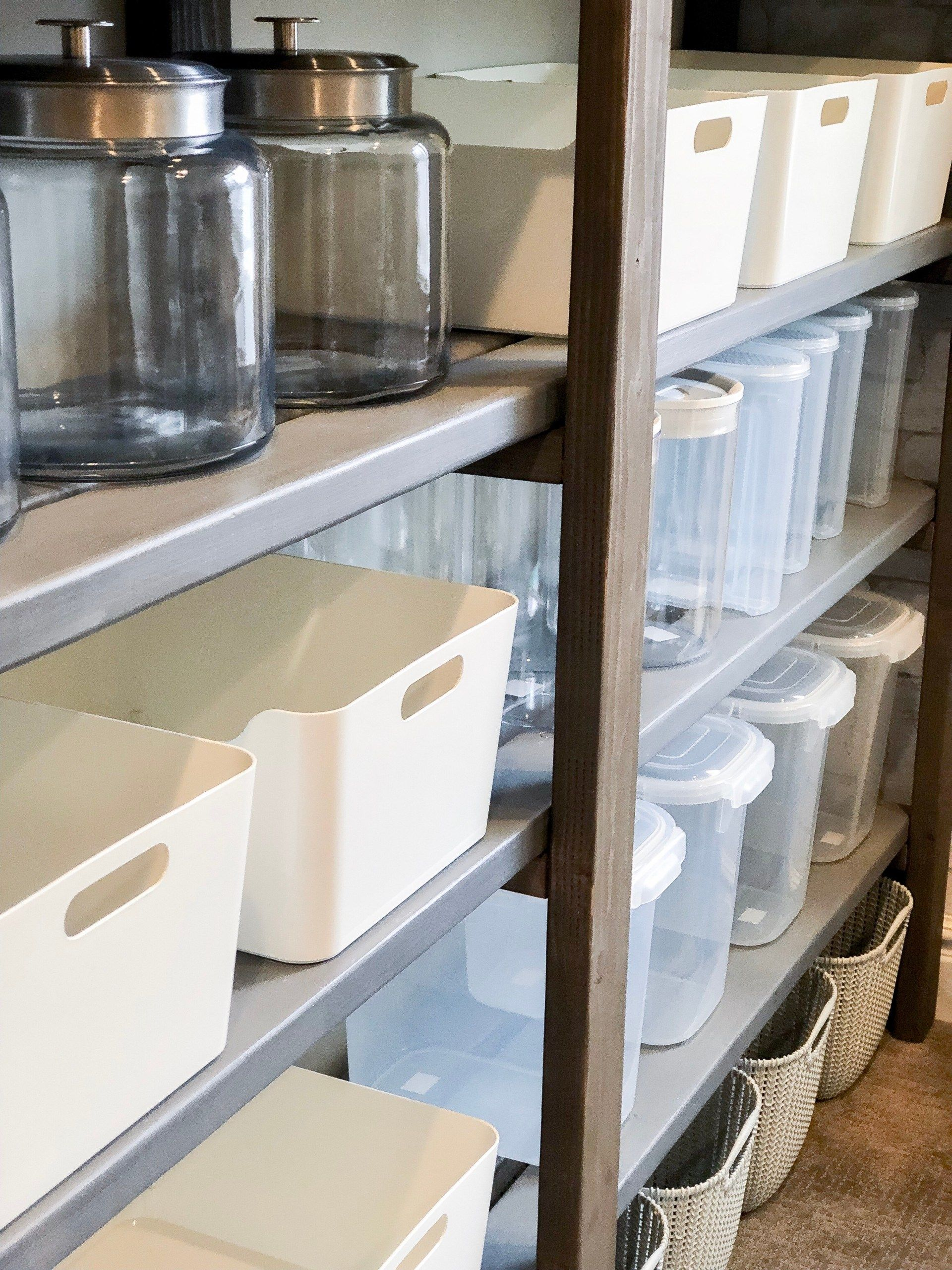 How To Organize Your Pantry On A Budget Citygirl Meets Farmboy Deep Pantry Diy Pantry Organization Pantry Budget