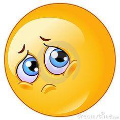 Emoticon Triste Símbolos Emoji Carinhas Whatsapp E Emoji