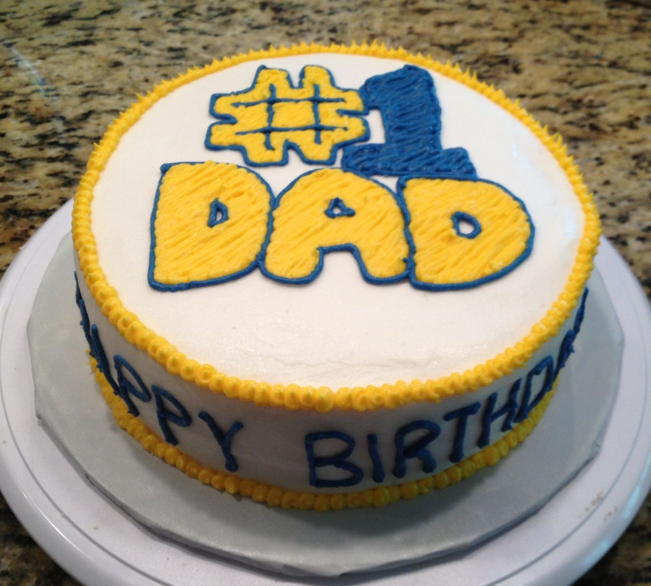 Fathers birthday cake Simply Shane Delicious Treats and
