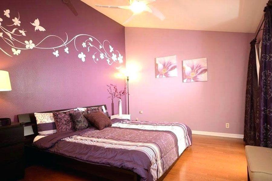 Two Tone Pink Bedroom Walls Homedecor Bedroom Homedecor Pink Tone Walls In 2020 Purple Bedrooms Pink Bedroom Walls Purple Bedroom Walls