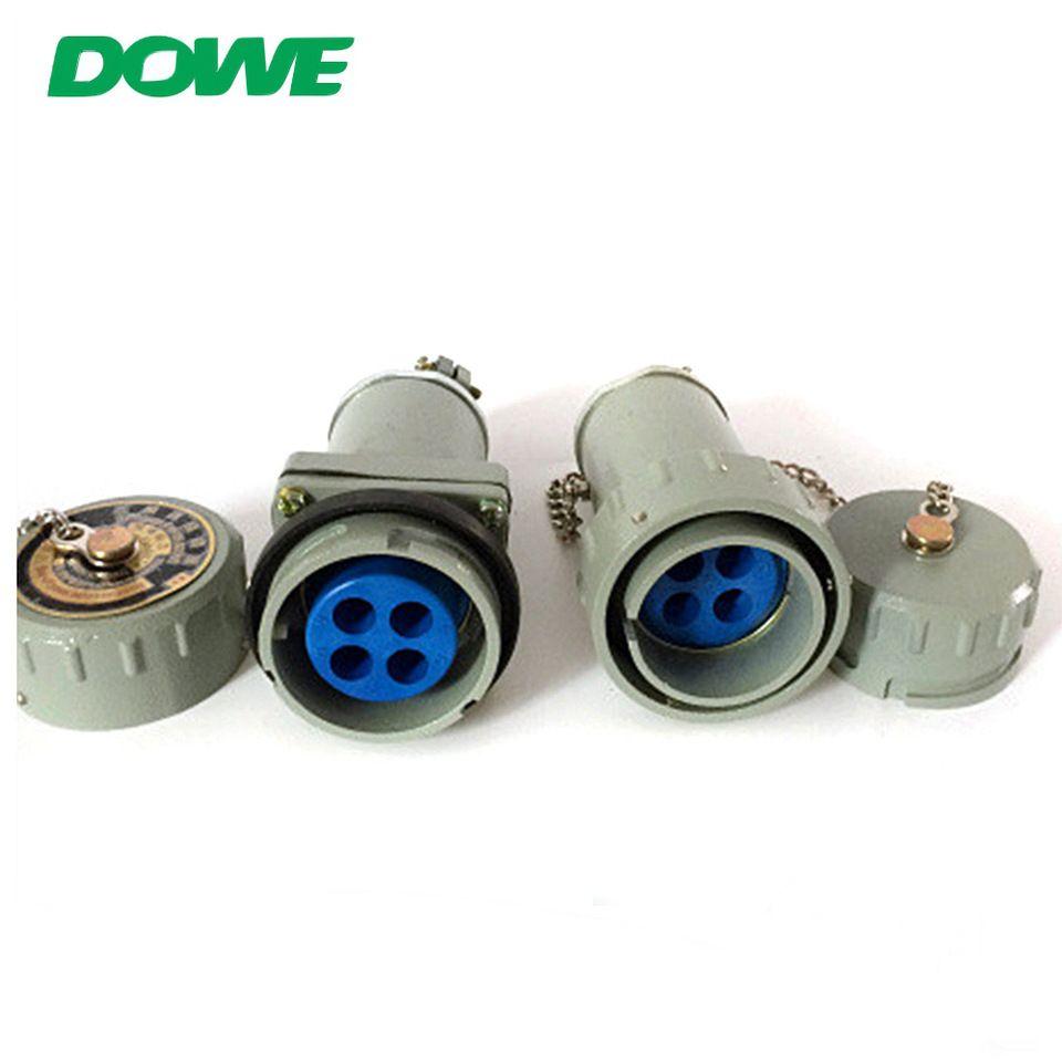 Hot sell aluminum body 3 phase 4 wire plug and socket 200amp plug ...