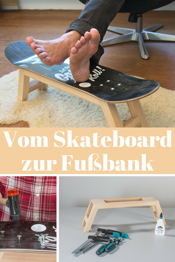 Fußbank in do it yourself pinterest upcycle diy und
