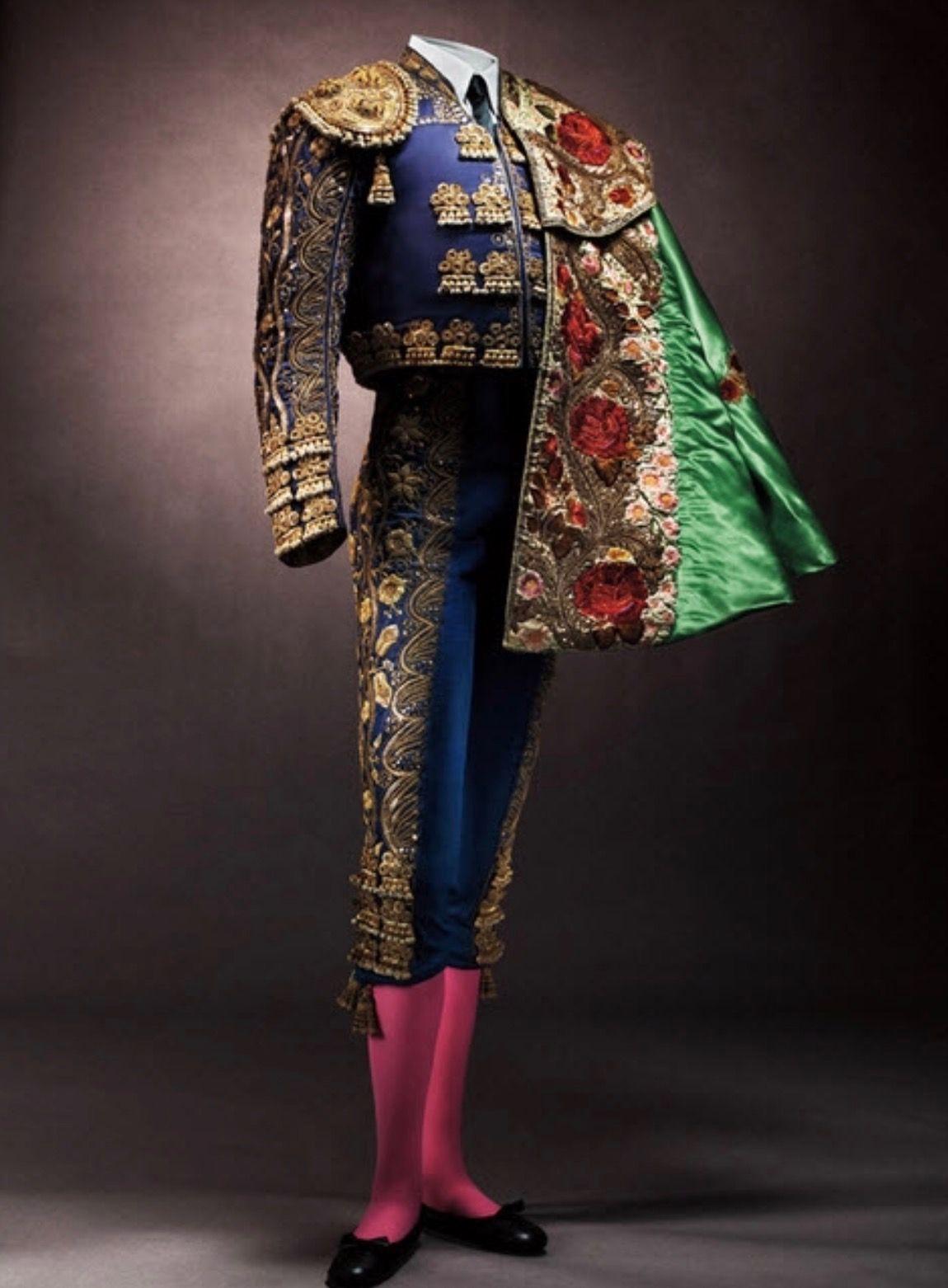Bullfighter costume, 1950s   Traditional spanish clothing