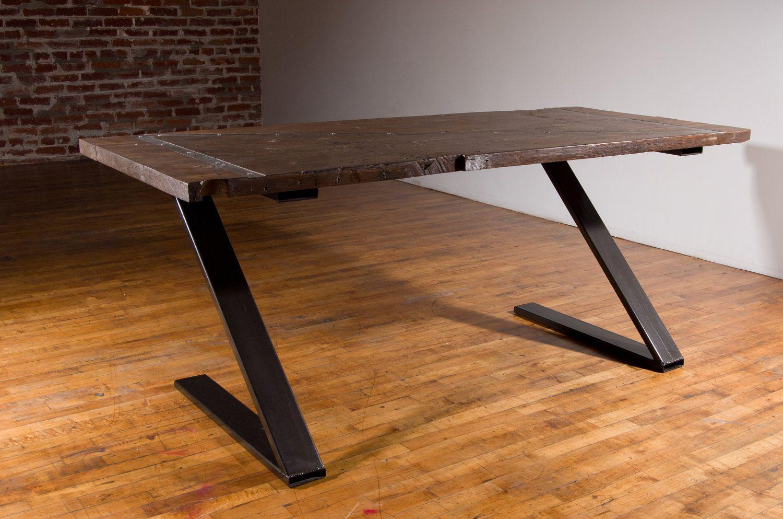awesome desk steel and reclaimed casa casa casa furniture rh pinterest com