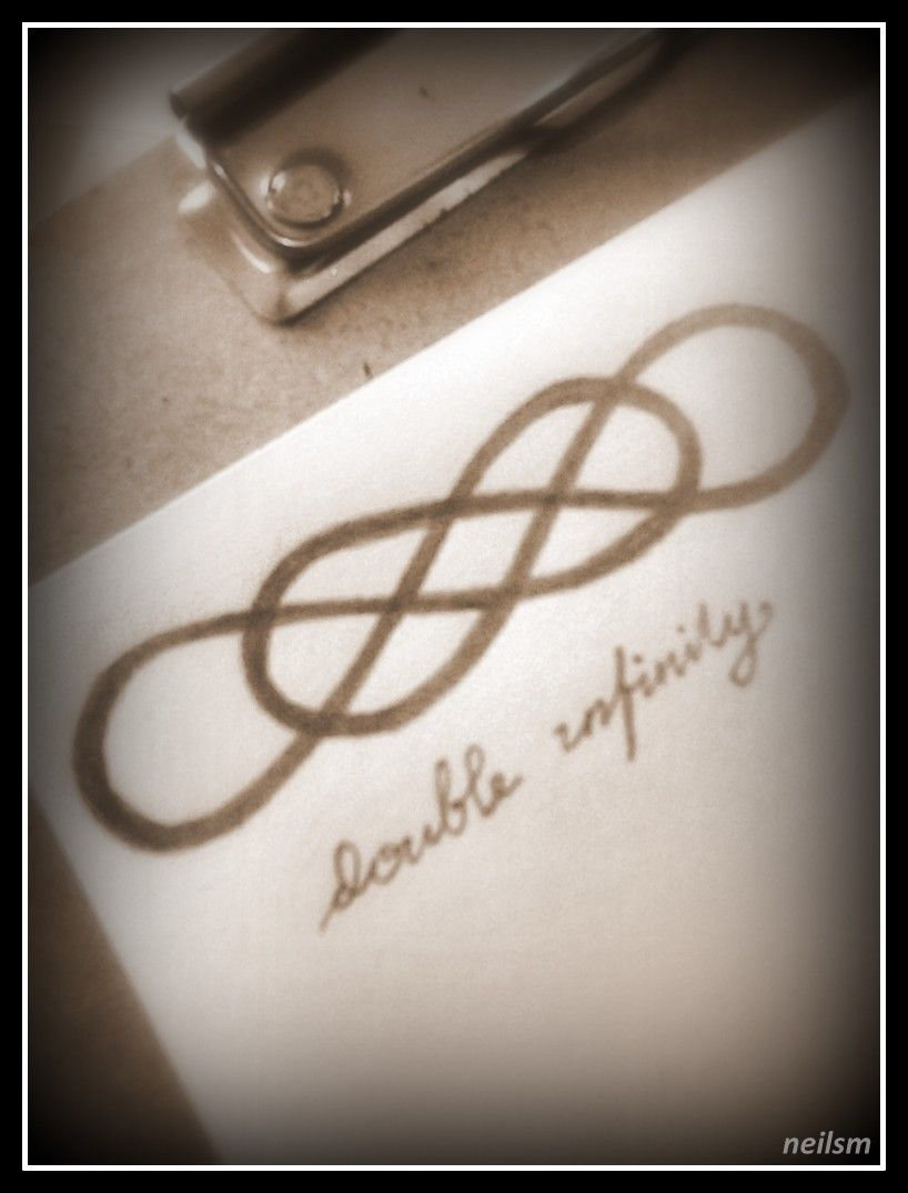 Double infinity 2 tattoo pinterest double infinity tattoo double infinity 2 buycottarizona