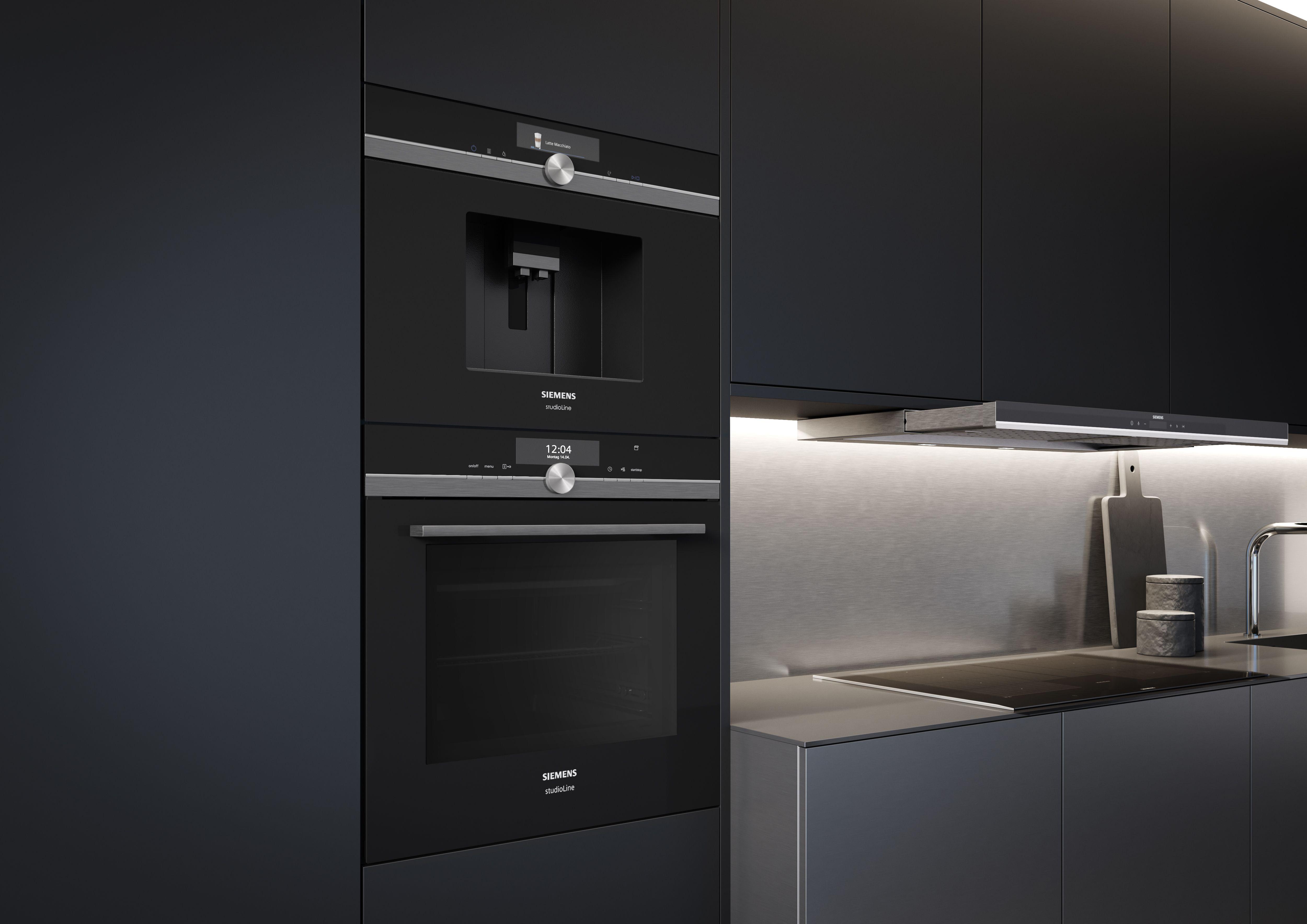 Fitted Kitchen, BuiltIn Kitchen, Oven, Siemens Home