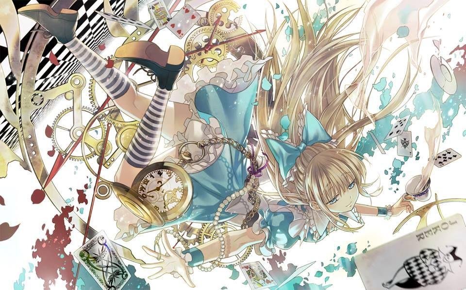 anime alice in wonderland ディズニーの描き方, アリス イラスト, アリス