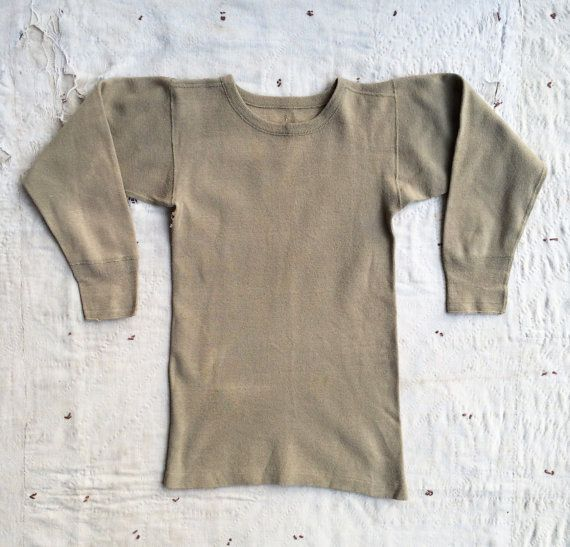 vintage c. 1940s WWII era US army issue olive by MouseTrapVintage