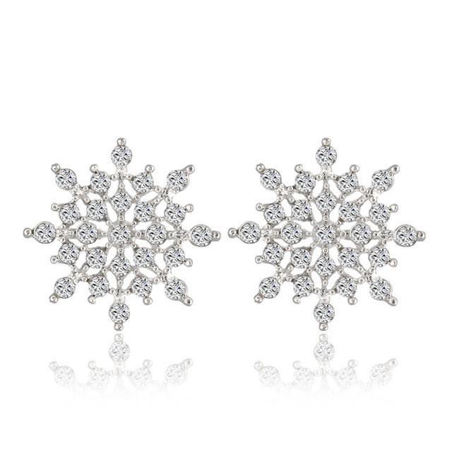 Snow Flake Earrings