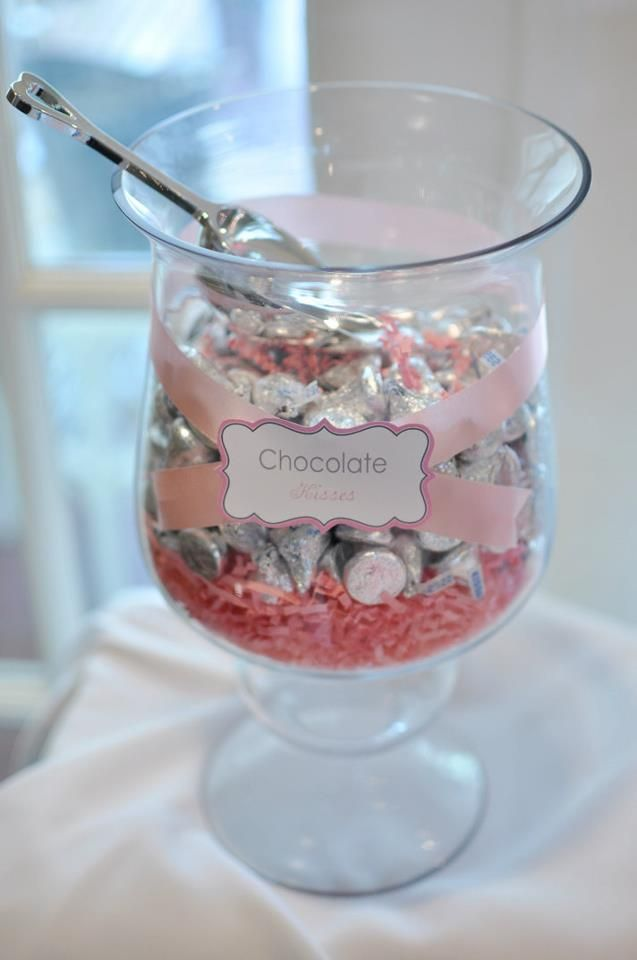 Hershey Kisses For Wedding Candy Buffete Paper Crinkle Filler