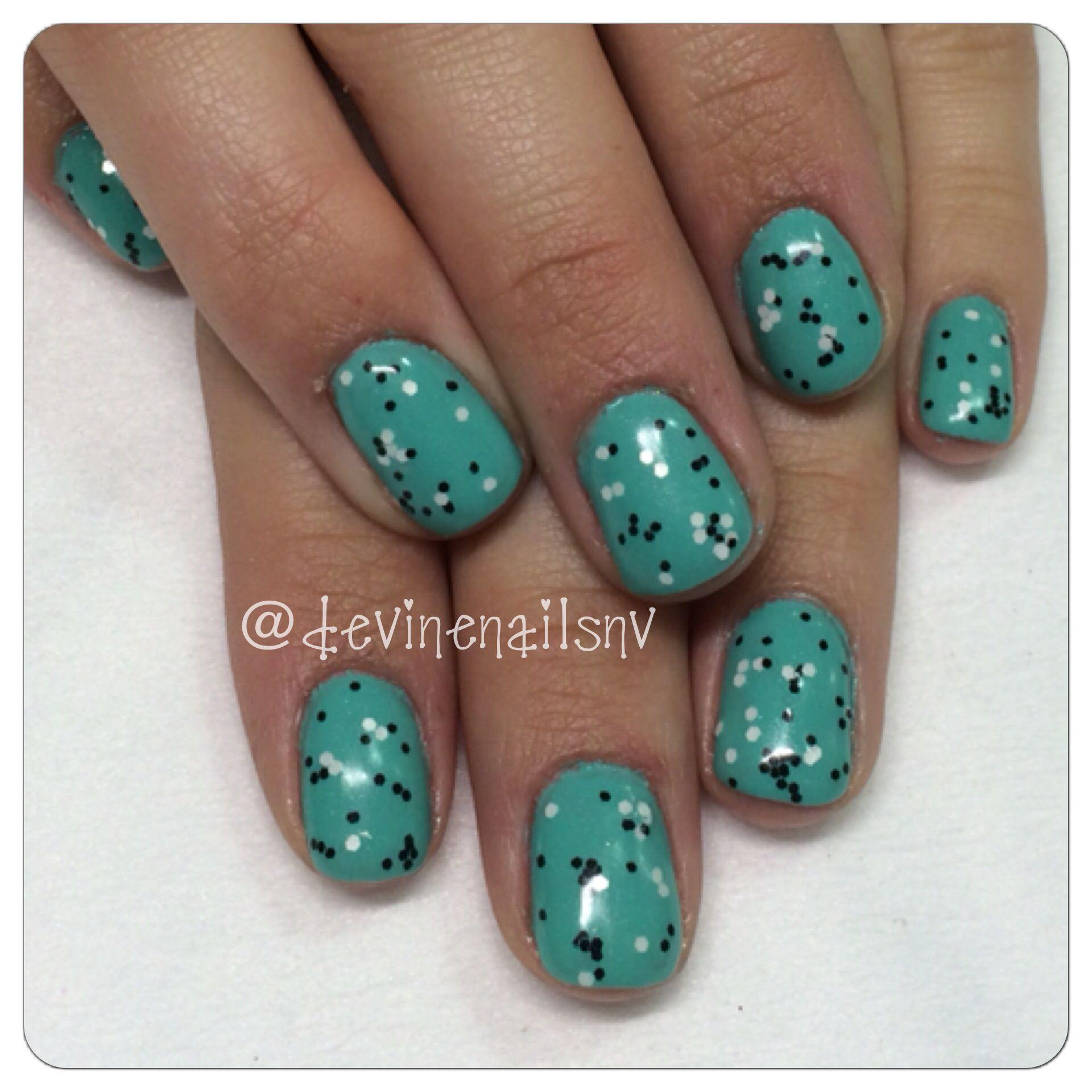 Robin\'s egg gel nails Spring 2014 #pinterestinspired @Chelsea Devine ...