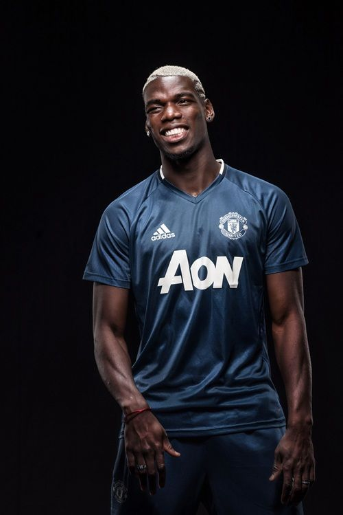 f15b0eb98aa6f Gallery  Paul Pogba in Manchester United kit - Official Manchester United  Website