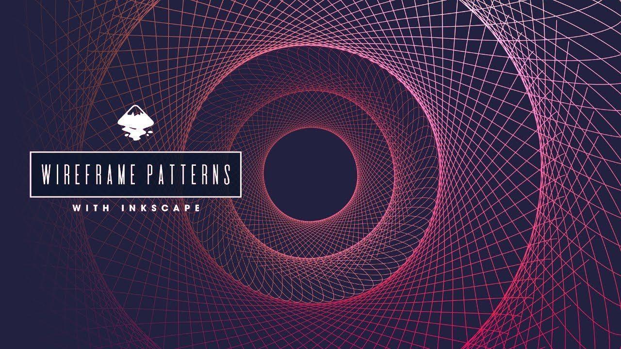 Inkscape Tutorial Wireframe Patterns in 2020 Tutorial