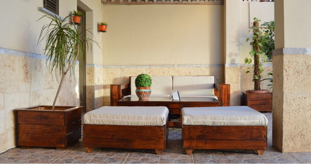 Conjunto de muebles para exterior chill out todo est for Muebles chill out exterior
