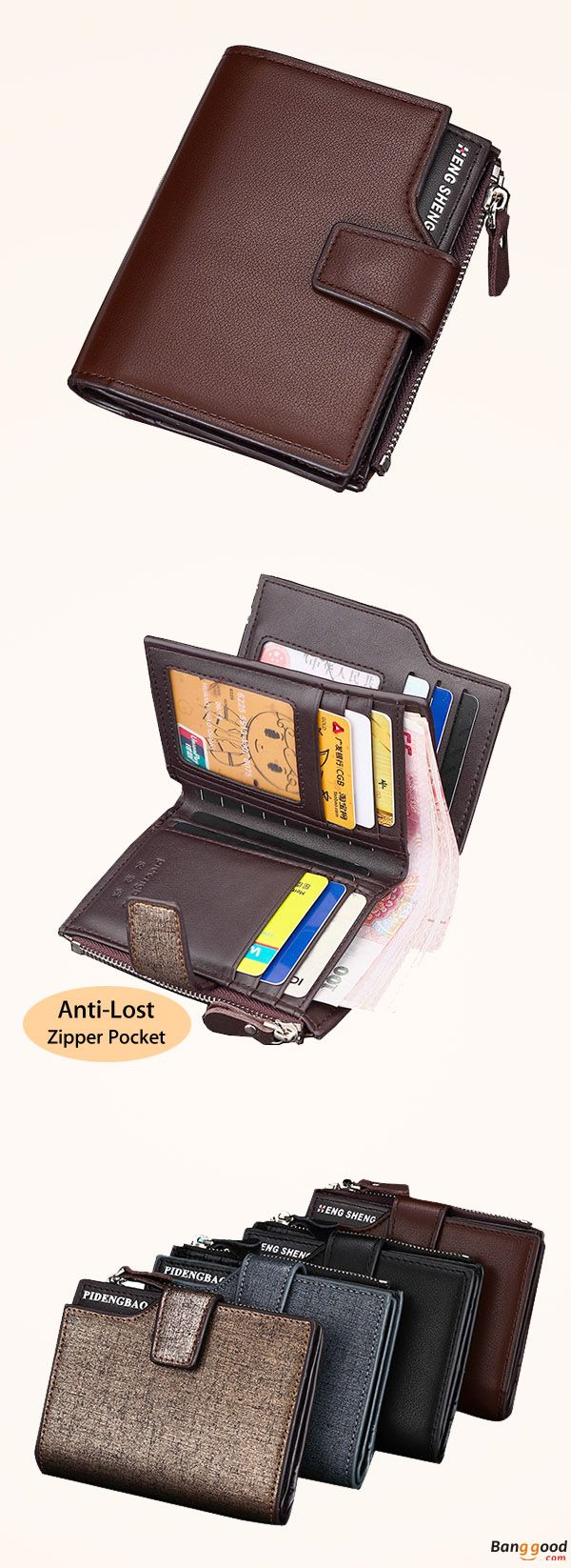 75159ed97 US$12.5 + Free Shipping.Men Wallet, PU Wallet, Leather Wallet, Minimalist  Wallet, Casual Business Wallet, Tri-fold Wallet, Card Holder.