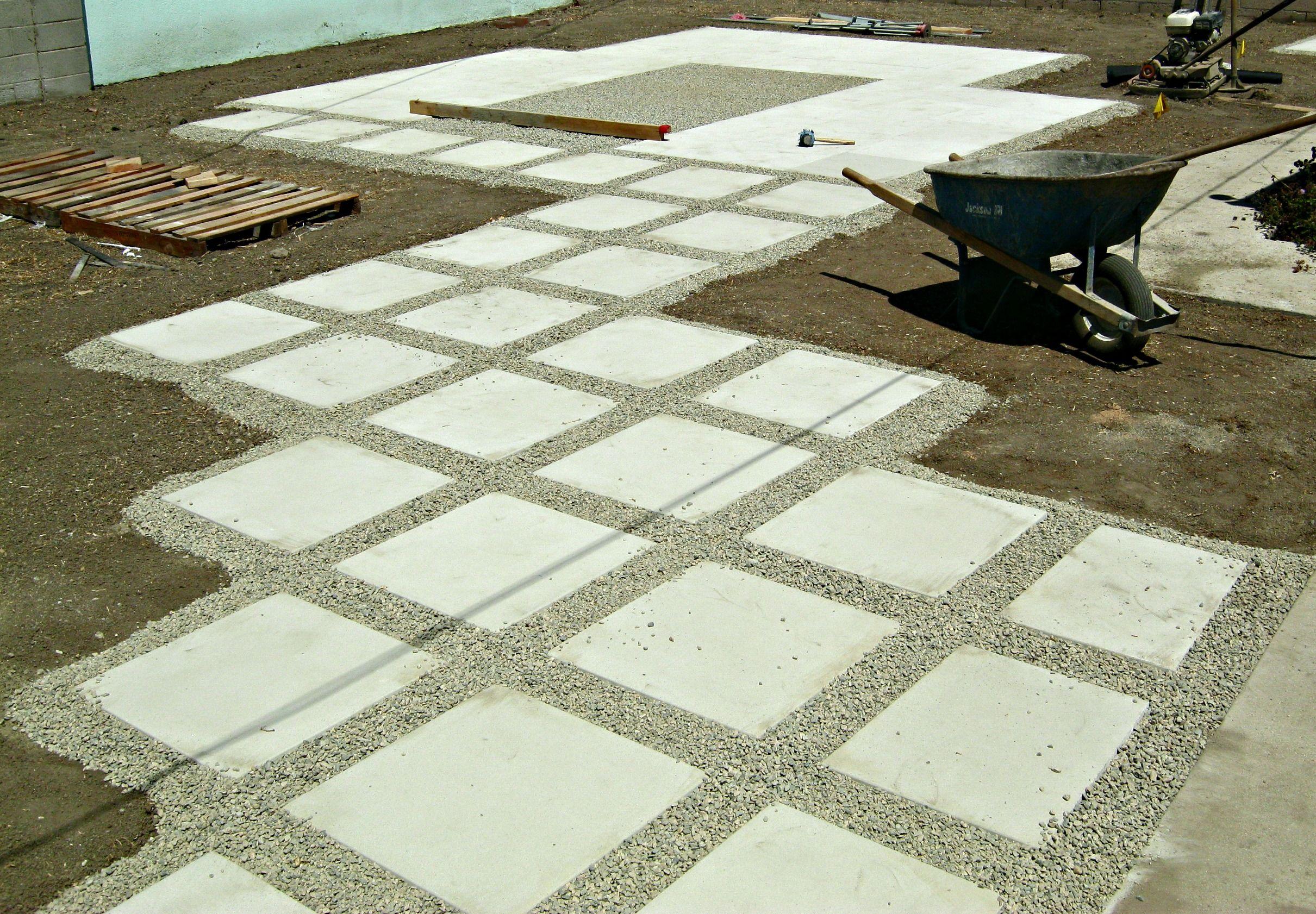 How to install 24 concrete pavers concrete pavers