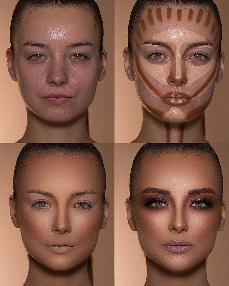 """Photo of MUA & MAKEOVERS Digital 💜 auf Instagram: """"Vertraue dem Prozess 🔥😍 ♥ ️ MUA: @samerkhouzami – Folge uns @Muaandmakeovers für mehr – Wir fördern Schönheit und feiern Maskenbildner 💜…"""""""