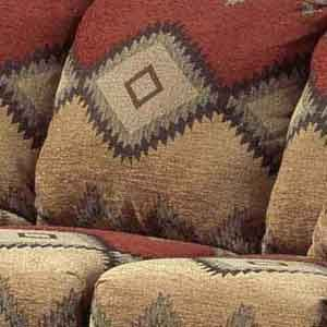 Southwest Style Furniture | Navajo Southwest Style Loveseat By  Intermountain Furniture .
