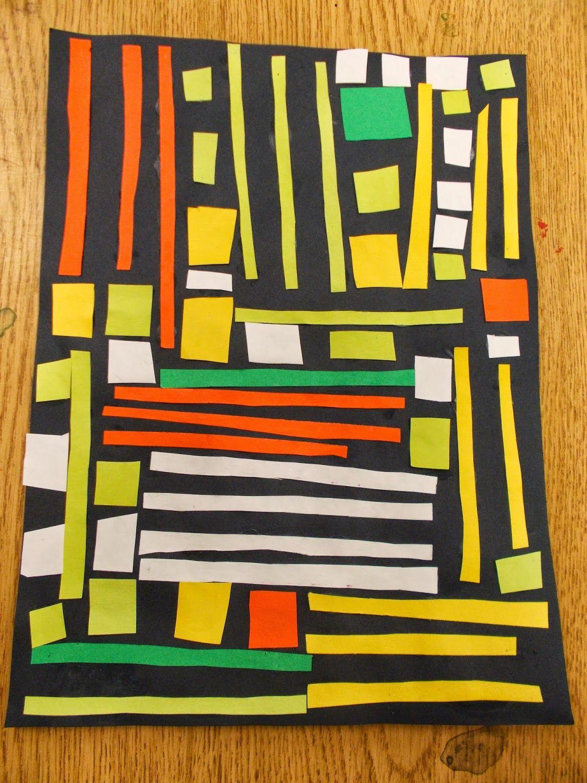 Polka Dot Spot Kente Cloth 1st First Grade Art Project