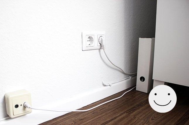 ikea hack kabelsalat ade zuk nftige projekte. Black Bedroom Furniture Sets. Home Design Ideas