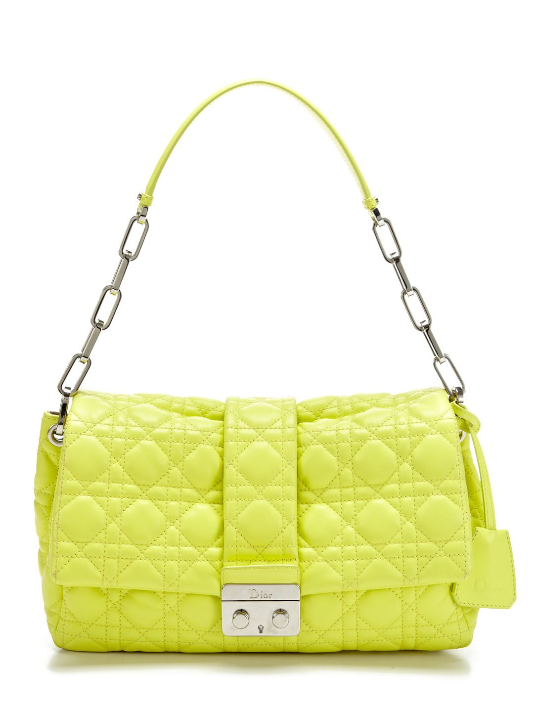 8294ce1fe23f Sorbet Yellow Miss Dior Flap Bag by Christian Dior at Gilt ...