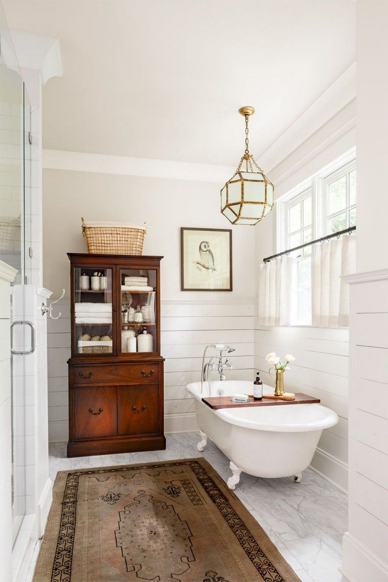 56 Amazing Rustic Master Bathroom Remodel Ideas Vintage