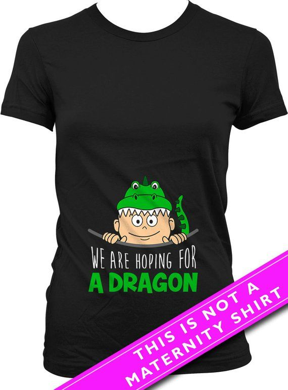 Pregnancy Announcement Shirt Maternity Tops We Are Hoping For A Dragon  Pregnancy T Shirt New Mom Shi 15b9e2819