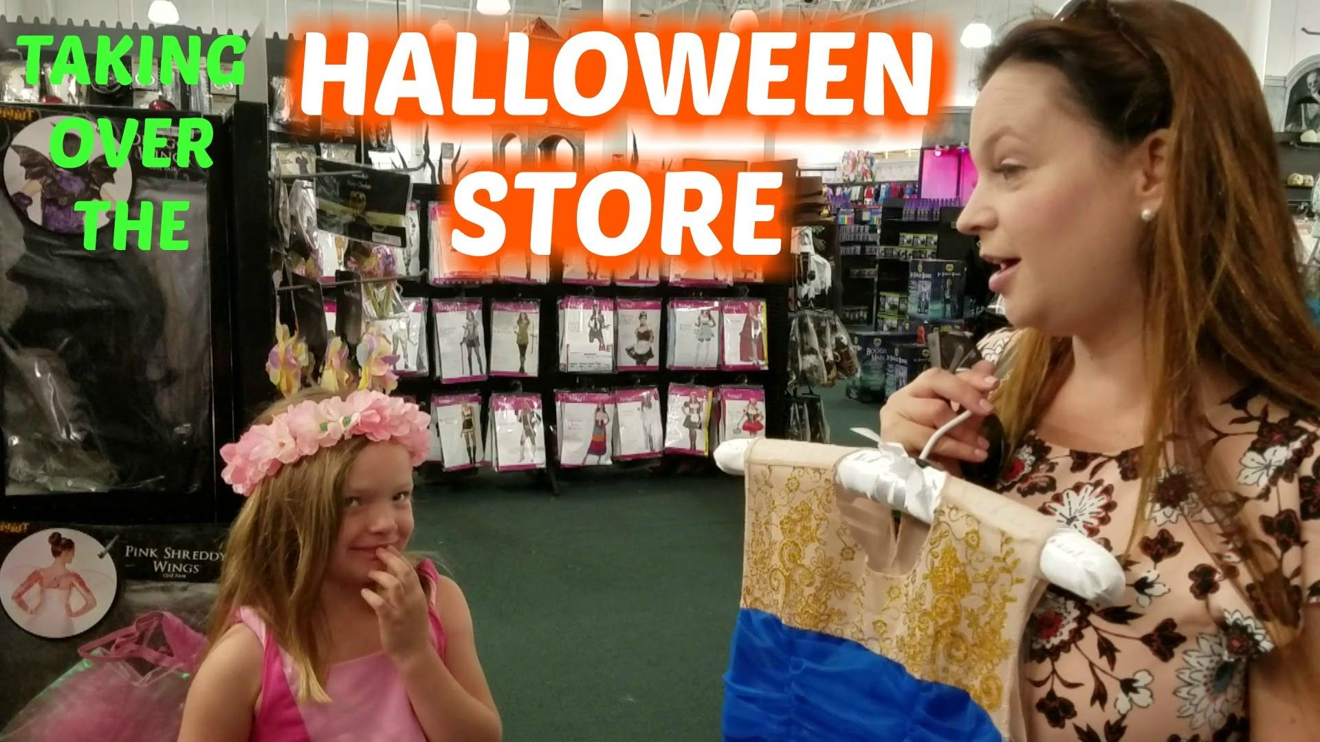 We Took Over The Halloween Store The Kids Had So Much