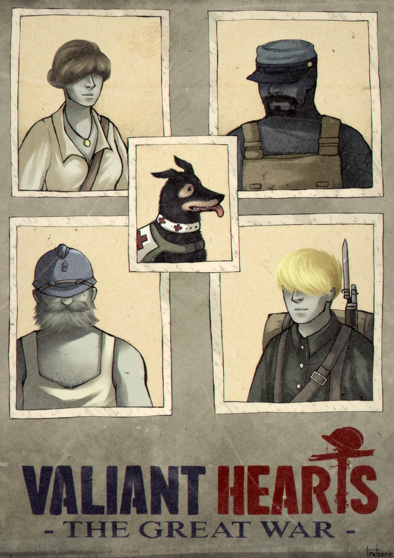 Valiant Hearts Fan Art The Great War By Traicere