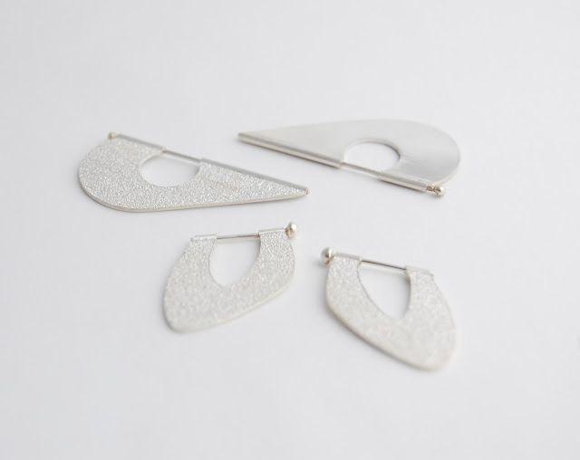 Airplane earrings/Aros Aeroplano | Contemporary jewellery ...