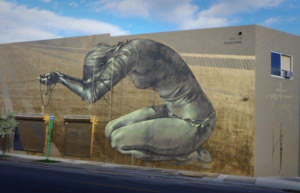 Street Art 360 @StreetArtEyes1 2m2 minutes ago  Amazing mural by Faith47 #streetart #art